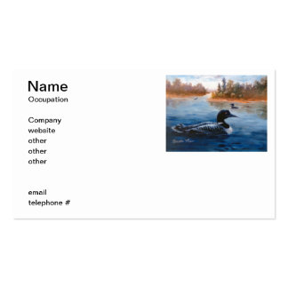 Loon Lake Business Cards
