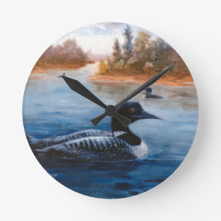 Loon Lake Wall Clocks