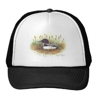 loon nesting hat