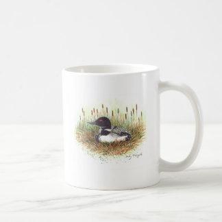 loon nesting coffee mugs