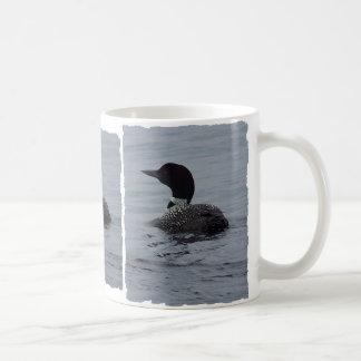 Loon on Pushaw Basic White Mug