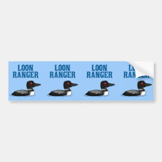Loon Ranger Bumper Sticker