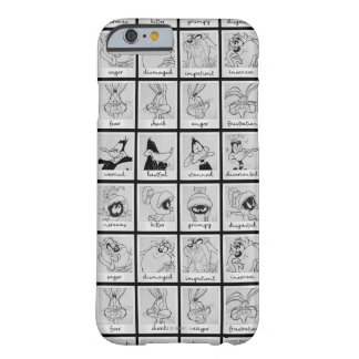 LOONEY TUNES™ Character Emotion Chart Barely There iPhone 6 Case