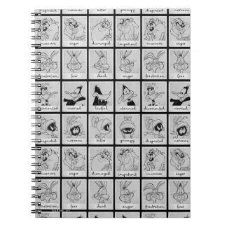 LOONEY TUNES™ Character Emotion Chart Notebook
