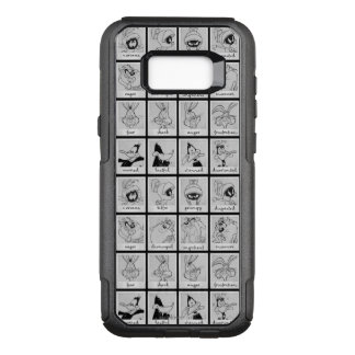 LOONEY TUNES™ Character Emotion Chart OtterBox Commuter Samsung Galaxy S8+ Case