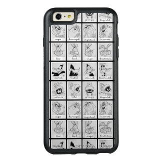 LOONEY TUNES™ Character Emotion Chart OtterBox iPhone 6/6s Plus Case