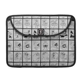 LOONEY TUNES™ Character Emotion Chart Sleeve For MacBooks