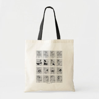 LOONEY TUNES™ Character Emotion Chart Tote Bag