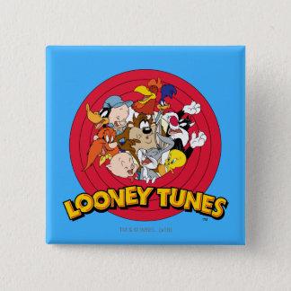 LOONEY TUNES™ Character Logo 15 Cm Square Badge