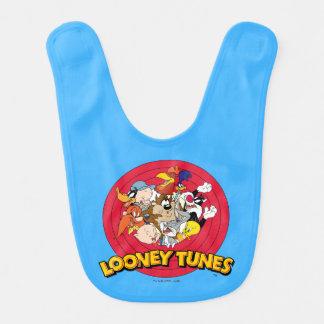 LOONEY TUNES™ Character Logo Bib