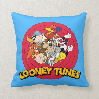 LOONEY TUNES™ Character Logo Cushion