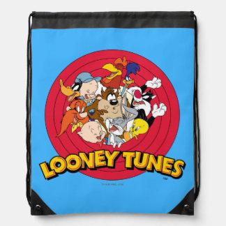 LOONEY TUNES™ Character Logo Drawstring Bag