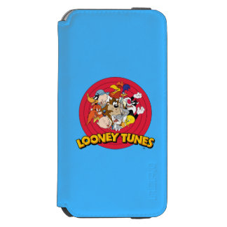 LOONEY TUNES™ Character Logo Incipio Watson™ iPhone 6 Wallet Case
