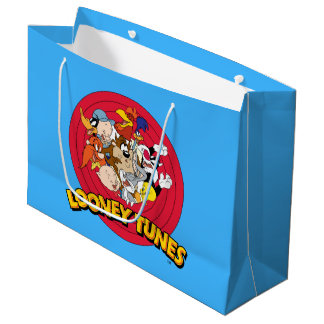 LOONEY TUNES™ Character Logo Large Gift Bag