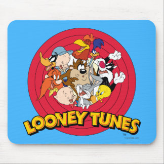 LOONEY TUNES™ Character Logo Mouse Mat