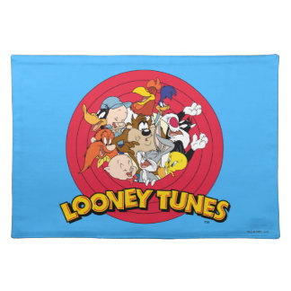 LOONEY TUNES™ Character Logo Placemat