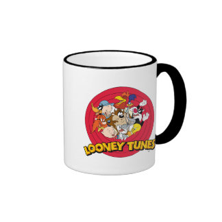 Looney Tunes Character Logo Ringer Mug