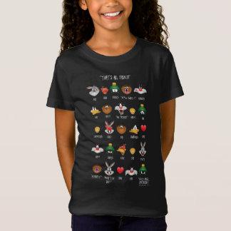 LOONEY TUNES™ Emoji Chart T-Shirt