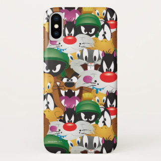 LOONEY TUNES™ Emoji Pattern iPhone X Case