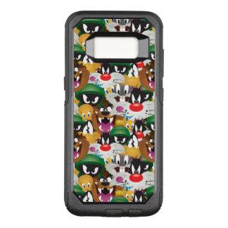 LOONEY TUNES™ Emoji Pattern OtterBox Commuter Samsung Galaxy S8 Case