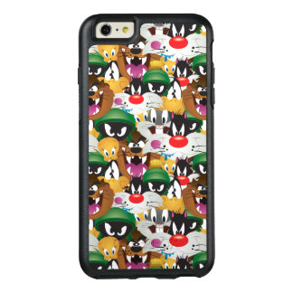 LOONEY TUNES™ Emoji Pattern OtterBox iPhone 6/6s Plus Case