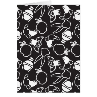 LOONEY TUNES™ Head Outlines Pattern Card