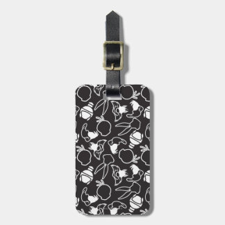 LOONEY TUNES™ Head Outlines Pattern Luggage Tag