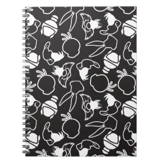 LOONEY TUNES™ Head Outlines Pattern Notebook