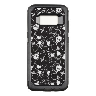 LOONEY TUNES™ Head Outlines Pattern OtterBox Commuter Samsung Galaxy S8 Case
