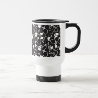 LOONEY TUNES™ Head Outlines Pattern Travel Mug