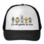 Looney Tunes Nerds - All Geek Mesh Hats