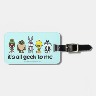 LOONEY TUNES™ Nerds - All Geek Travel Bag Tag