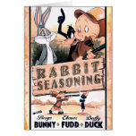 LOONEY TUNES™ Rabbit Seasoning Greeting Card