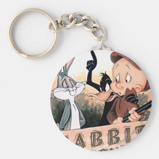 Looney Tunes Rabbit Seasoning Key Chain