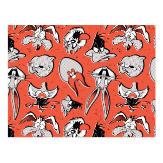 LOONEY TUNES™ Retro Halftone Pattern Postcard