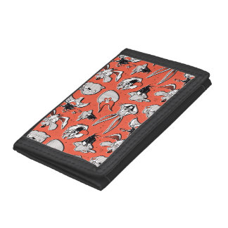 LOONEY TUNES™ Retro Halftone Pattern Trifold Wallets