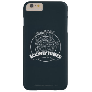 LOONEY TUNES™ THAT'S ALL FOLKS!™ BARELY THERE iPhone 6 PLUS CASE