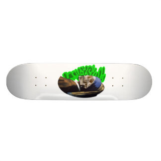 LooneySkull With A Pearl Earing Skate Board Decks