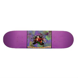 LooneySkullRUD: Triad-Skull 21.3 Cm Mini Skateboard Deck
