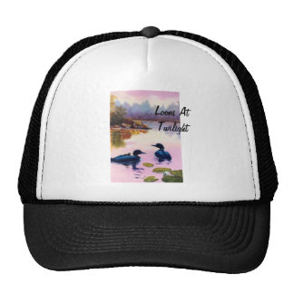 Loons At Twilight Hat