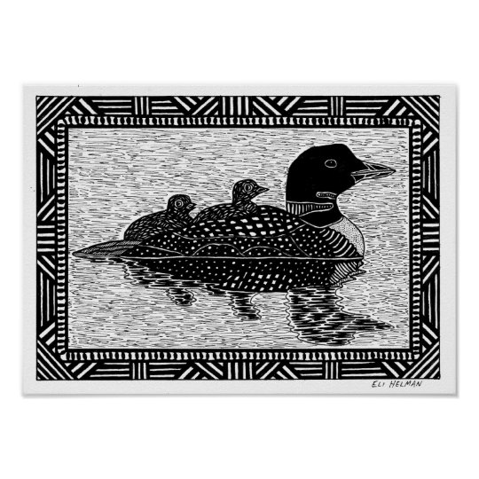 Loons Poster