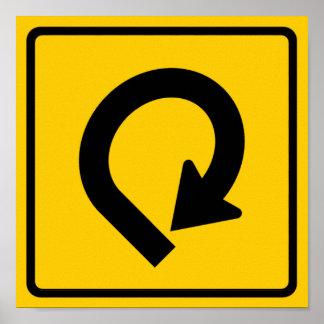 Loop Highway Sign Print