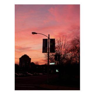 Loop North Sunset Postcard
