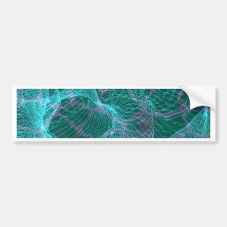 loopy network aqua bumper stickers