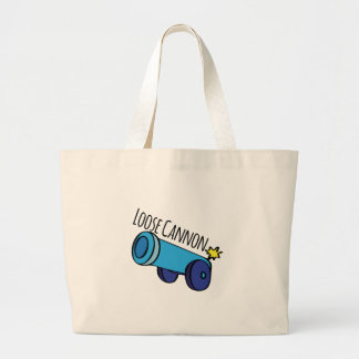 Loose Cannon Tote Bags