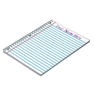 Loose Leaf Paper Notebook