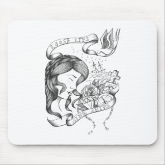 Loose Lips Mouse Pad