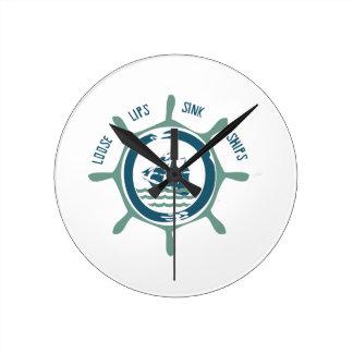 Loose Lips Sink Ships Clocks