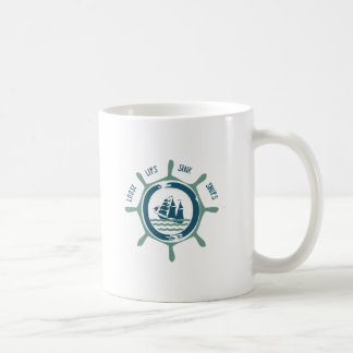 Loose Lips Sink Ships Coffee Mugs