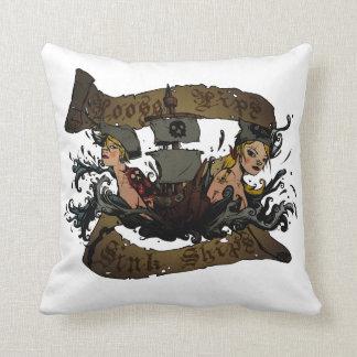Loose Lips Sink Ships Pillow Throw Cushions